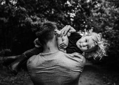 Northampton Family Photography black and white