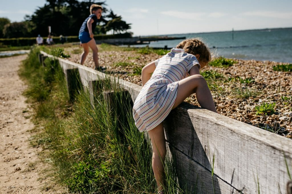 Unposed, Natural Family Photography. Documentary Family Photographer on the beach