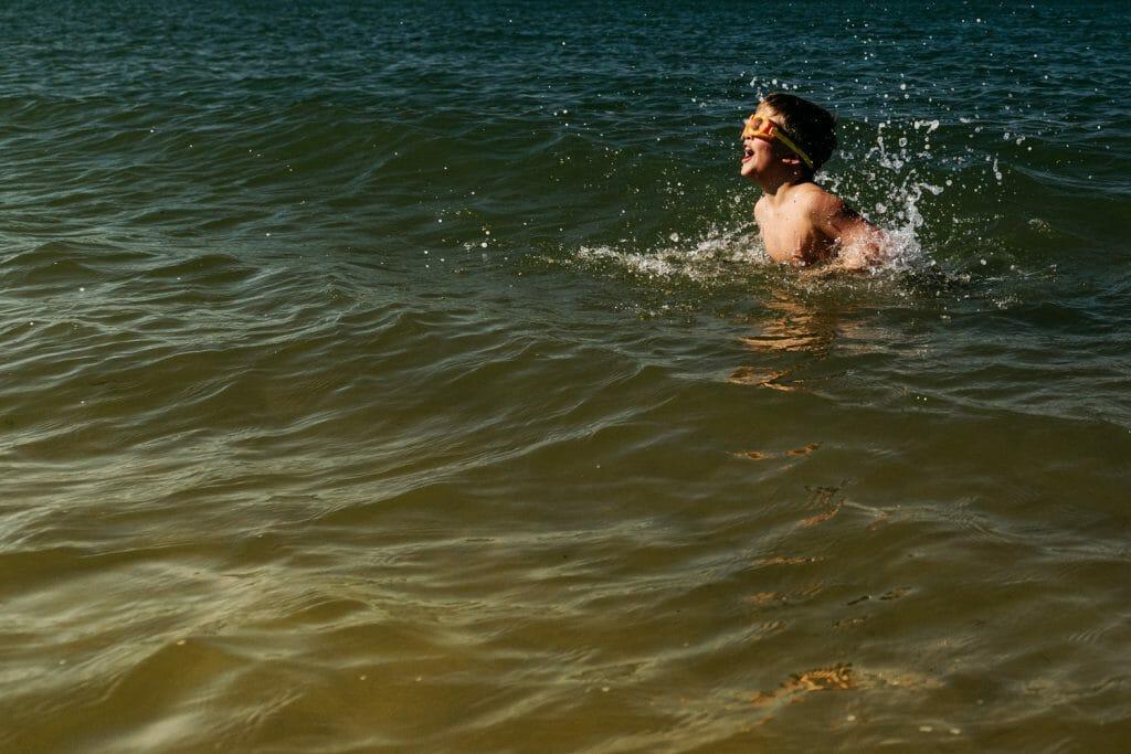 Documentary Family Photographer for beach days out